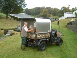 Livestock Canopy For Utility Vehicles
